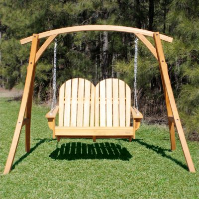 Adirondack Loveseat Swing