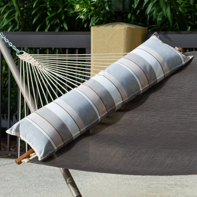 Long Sunbrella Hammock Pillow - Expand Dove