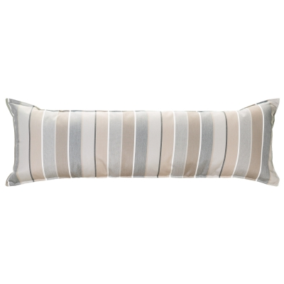 Long Sunbrella Hammock Pillow - Milano Char