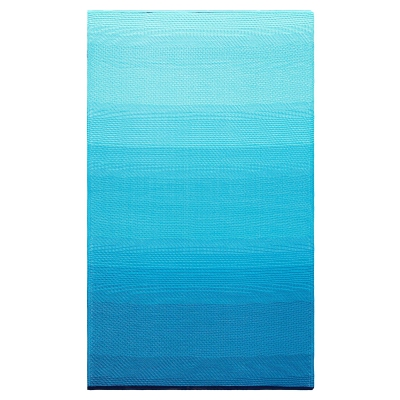 World Collection - Big Sur Teal Outdoor Rug