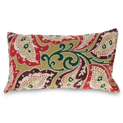 Zinnia Sari Outdoor Throw Pillow 19 in. x 10 in. Rectangle/Lumbar