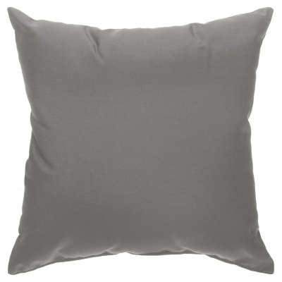 Square Hammock Pillow - Canvas Charcoal (18 in. x 18 in.)