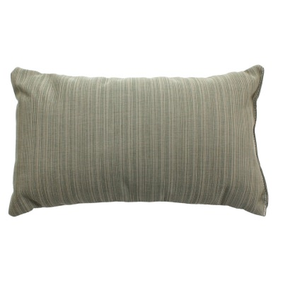 Rectangle Dupione Laurel Sunbrella Outdoor Throw Pillow