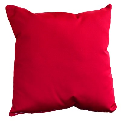 Jockey Red Sunbrella Outdoor Throw Pillow 16