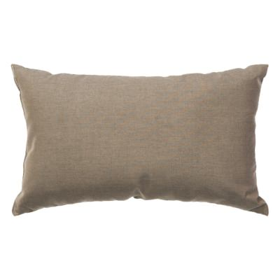 Cast Shale Sunbrella Outdoor Throw Pillow (19