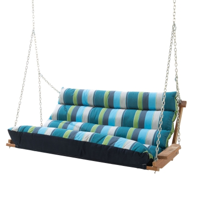 Deluxe Sunbrella Cushion Swing - Expand Calypso