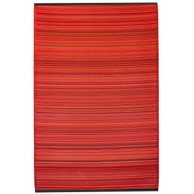 Cancun Sunset Outdoor Mat (4ft x 6ft)
