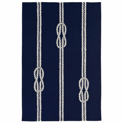 Capri Ropes Indoor/Outdoor Rug - Navy