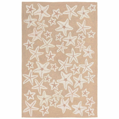 Capri Starfish Indoor/Outdoor Rug - Neutral