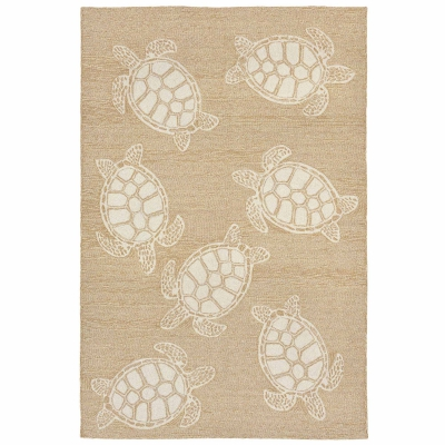 Capri Turtle Indoor/Outdoor Rug - Neutral