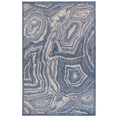 Carmel Agate Navy Indoor Outdoor Rug