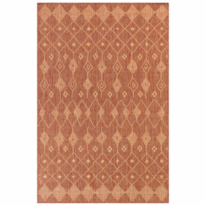 Carmel Marrakech Indoor/Outdoor Rug - Red