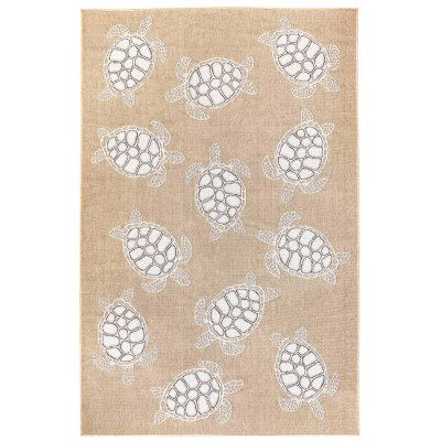 Carmel Seaturtles Indoor/Outdoor Rug Sand