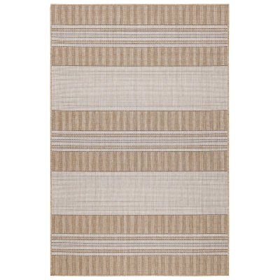 Carmel Stripe Sand Indoor/Outdoor Rug