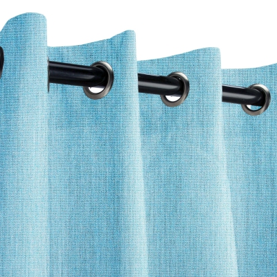 Sunbrella Cast Horizon Outdoor Curtain