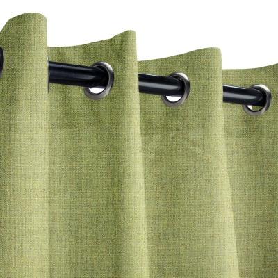 Sunbrella Cast Moss Outdoor Curtain