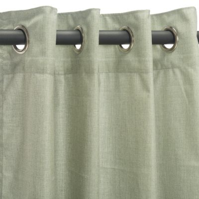 Sunbrella Cast Oasis Outdoor Curtain with Grommet Top