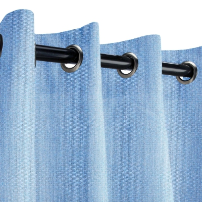 Sunbrella Cast Ocean Outdoor Curtain