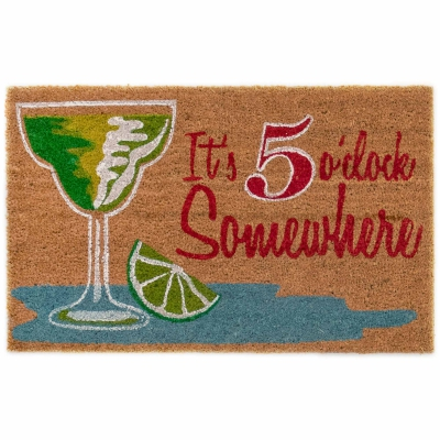 Cabana Five O'clock Outdoor Mat - Natural
