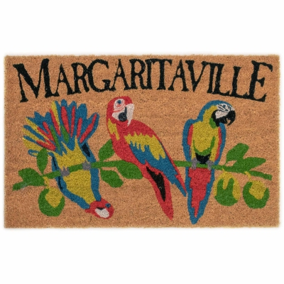 Cabana Margaritaville Outdoor Mat - Natural