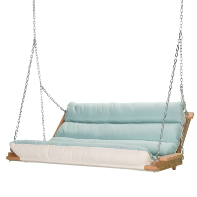 Deluxe Sunbrella Cushion Swing - Spectrum Mist