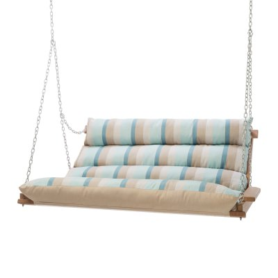 Deluxe Sunbrella Cushion Swing - Gateway Mist