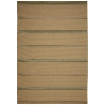Inlet Stripe Natural Porch Rug
