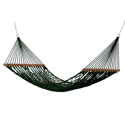 Small DuraCord Rope Hammock - Green