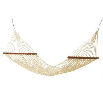 Small DuraCord Rope Hammock - Oatmeal