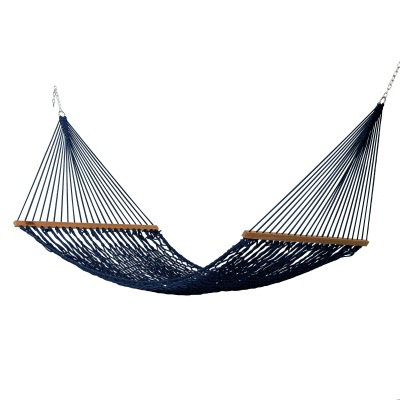 Large DuraCord Rope Hammock - Navy