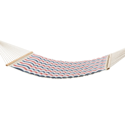Large Polyester Pillowtop Hammock - Twill Stripe