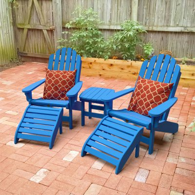 5 Piece Essentials Adirondack Set