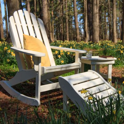 3 Piece Single Essentials Adirondack Rocker Set
