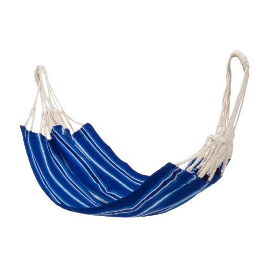 South American Style Kids Hammocks - Blue Stripe