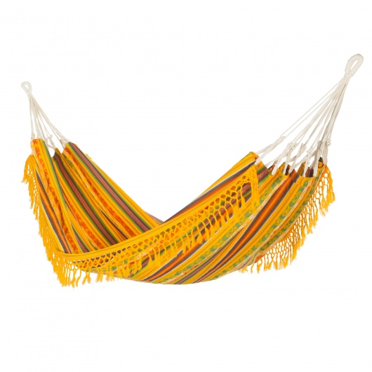 Ecuador Yellow Multi Stripe Hammock
