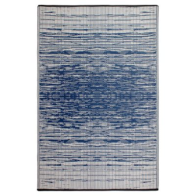 Brooklyn Blue Recycled Indoor/Outdoor Mat