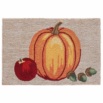 Frontporch Pumpkin Indoor/Outdoor Rug - Neutral