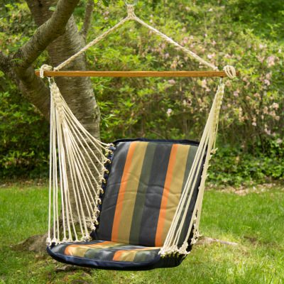Sunbrella Cushioned Single Swing - Gateway Aspen