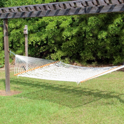 14 ft. Texas Size Extra Long Cotton Rope Hammock