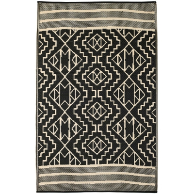 World Collection - Kilimanjaro Black Outdoor Rug
