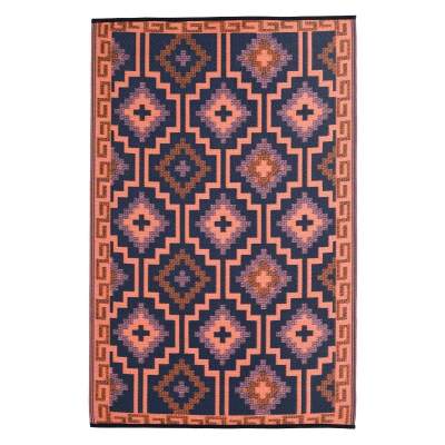 World Collection - Lhasa Coral Outdoor Rug