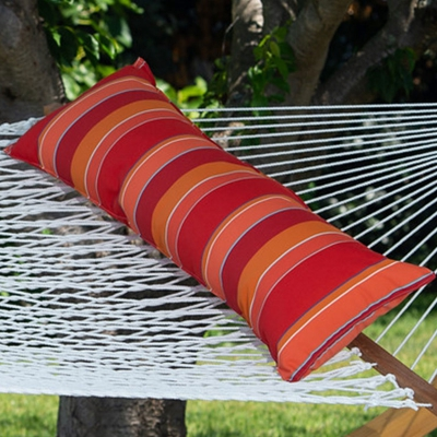 Long Sunbrella Hammock Pillow - Expand Tamale