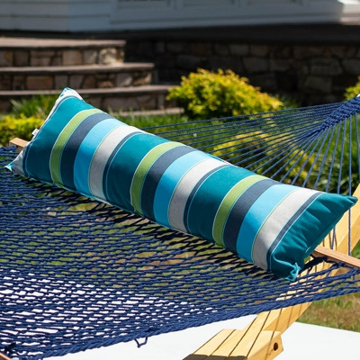Long Sunbrella Hammock Pillow - Expand Calypso