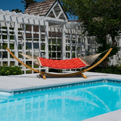 Sunbrella Pillowtop Hammock - Expand Tamale