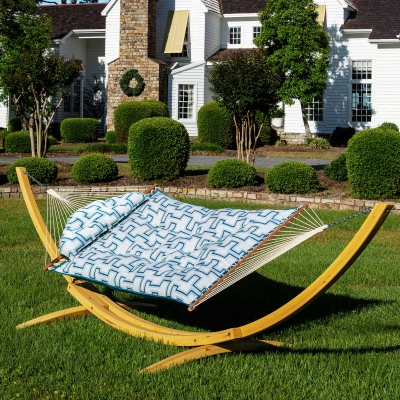Large Sunbrella Tufted Hammock - Resonate Atlantis