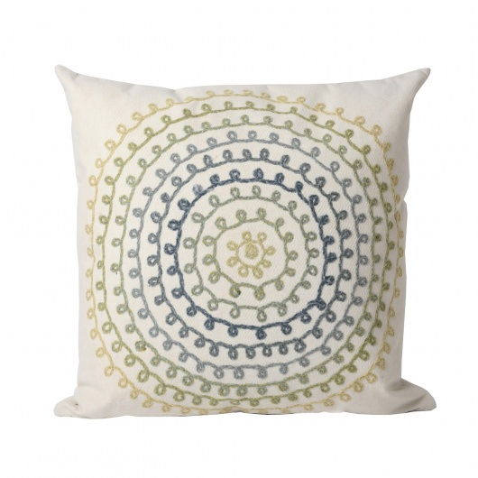 Ombre Threads Cool  Outdoor Pillow