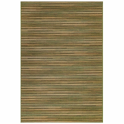 Marina Stripes Indoor/Outdoor Rug - Green