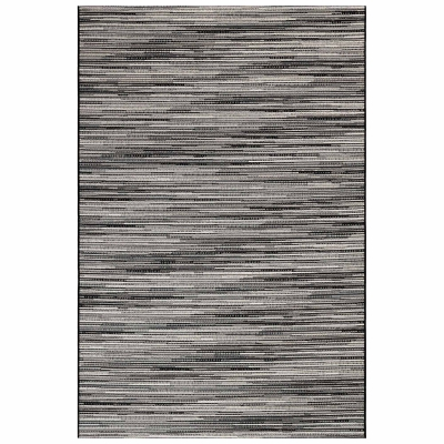 Marina Stripes Indoor/Outdoor Rug - Grey