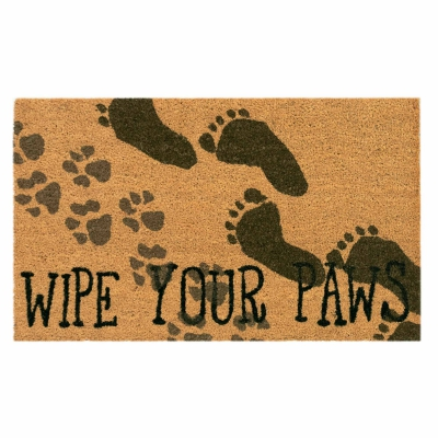 Natura Wipe Your Paws Outdoor Mat - Natural