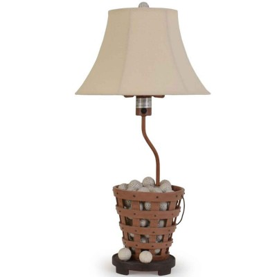 Golf Bucket Outdoor Table Lamp